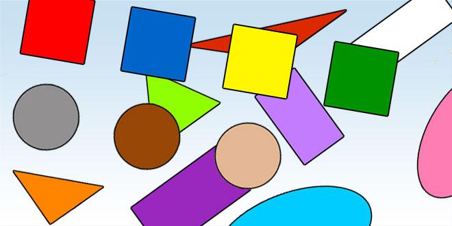 геометрические формы для детей