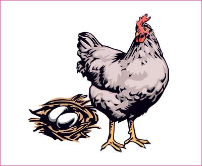 договорка на английском языке про курицу