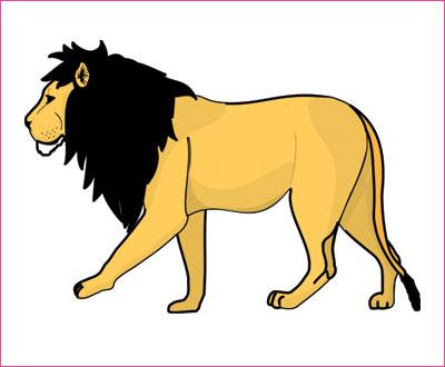 договорка на английском языке про льва