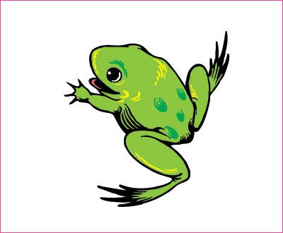 договорка на английском языке про лягушку