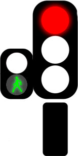 светофор можно идти