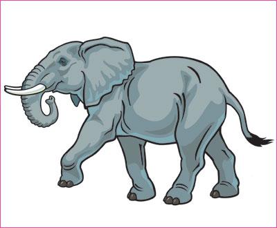 договорка на английском языке про слона