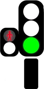 светофор нельзя идти