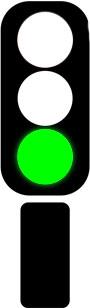 светофор разрешающий сигнал