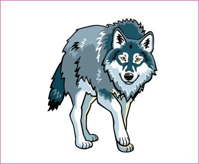 договорка на английском языке про волка